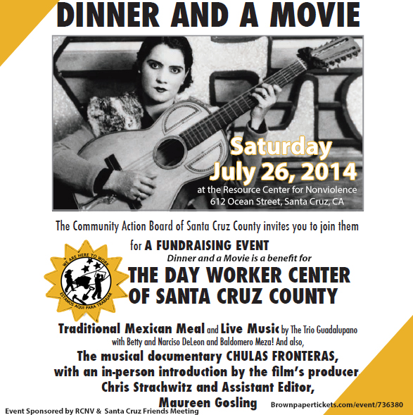 Dinner and a Movie Event July 26, 2014
